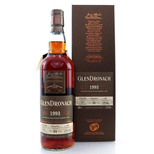 GlenDronach 1993 24yo Cask#445 Batch 16