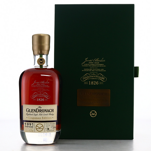 Glendronach 1991 Kingsman Edition 25YO