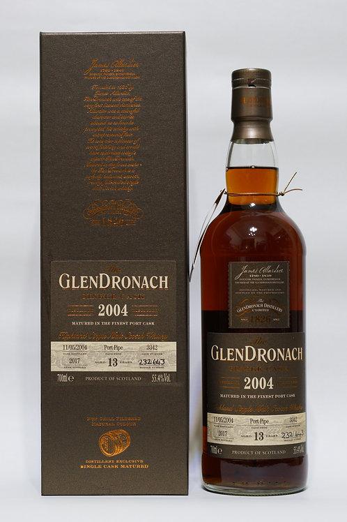 GlenDronach 2004 13yo Cask#3342 Batch 16 Port Cask