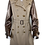 Thumbnail: Burberry London Trench Coat w/leather sleeves Size 12