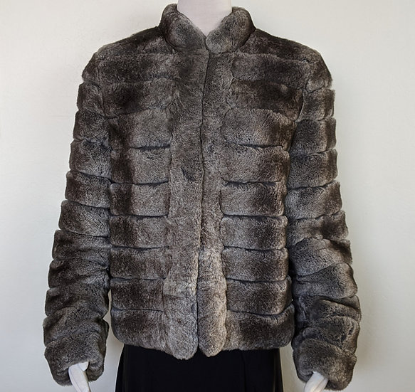Armani Rex Rabbit Fur Jacket sz 44 (US 8)