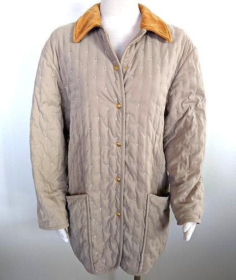 Vintage Hermes Quilted Jacket FR 42 US (US 10/12)