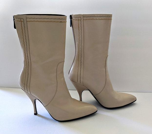 Bottega Veneta Creme Boots sz 39 (US 8.5) Made in Italy