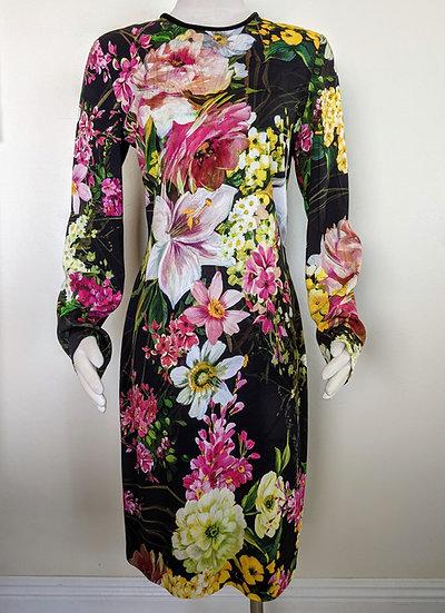 Naeem Khan Floral Dress size 8