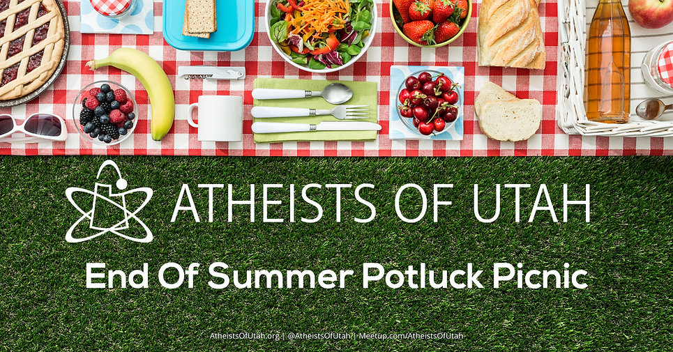 Atheists Of Utah Potluck Picnic