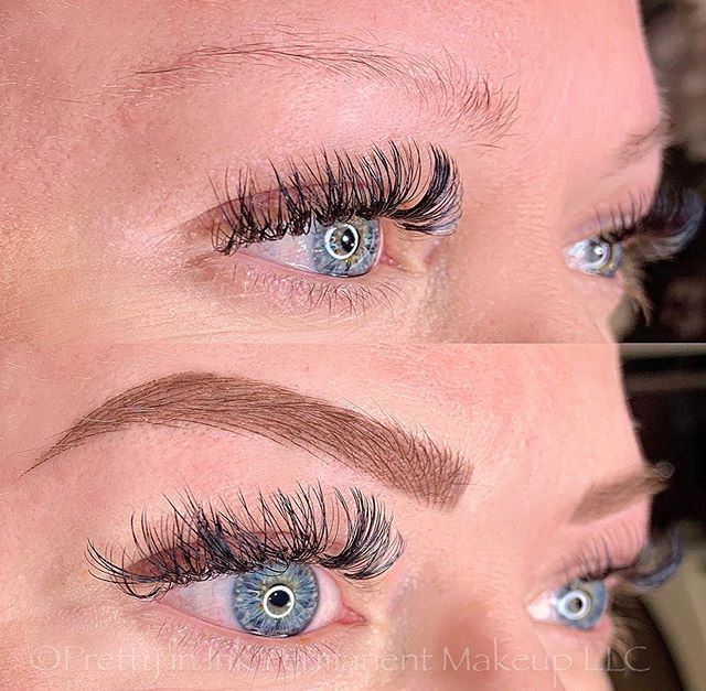 Loved this client! Microblading and shad