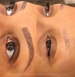 Dream brows in less than 2 hours 😍Have