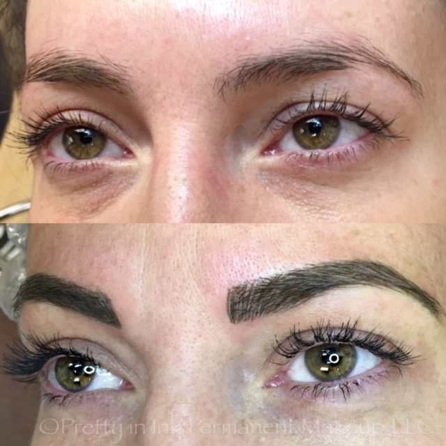 Micro Brow Embroidery