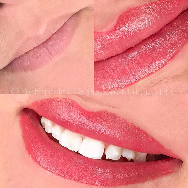 Look at that SPARKLE ✨Full lip tinting (