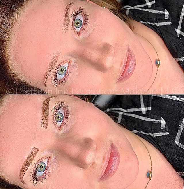 First appt. Microblading and shading
