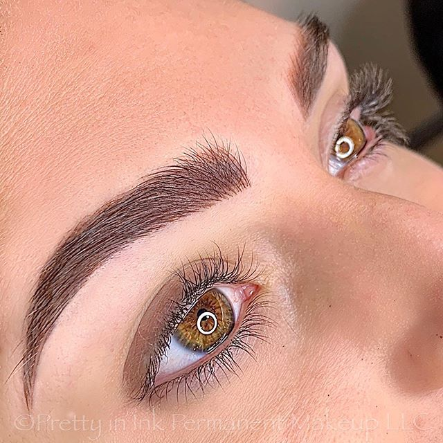 Those front strokes 🤤 ☁️ Hybrid brow (c