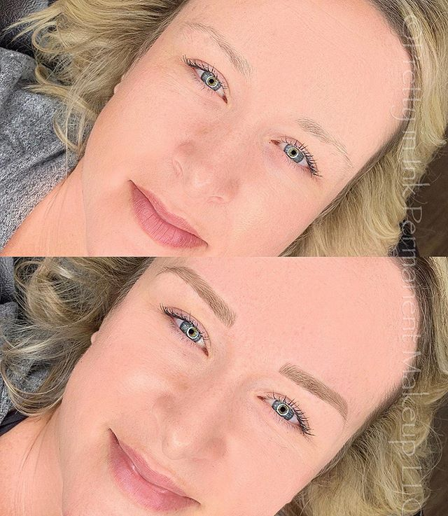Loved doing this beautiful mamas brows!.