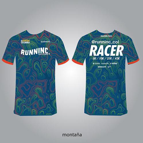 Camisetas Racer Montaña Runninc