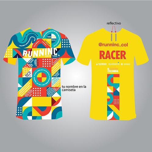 Camisetas runninc - Nombres