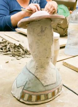 פסל איש 2