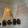 luminaire réalisé pour les jardins de Gally, architectes paysagistes dans le 78