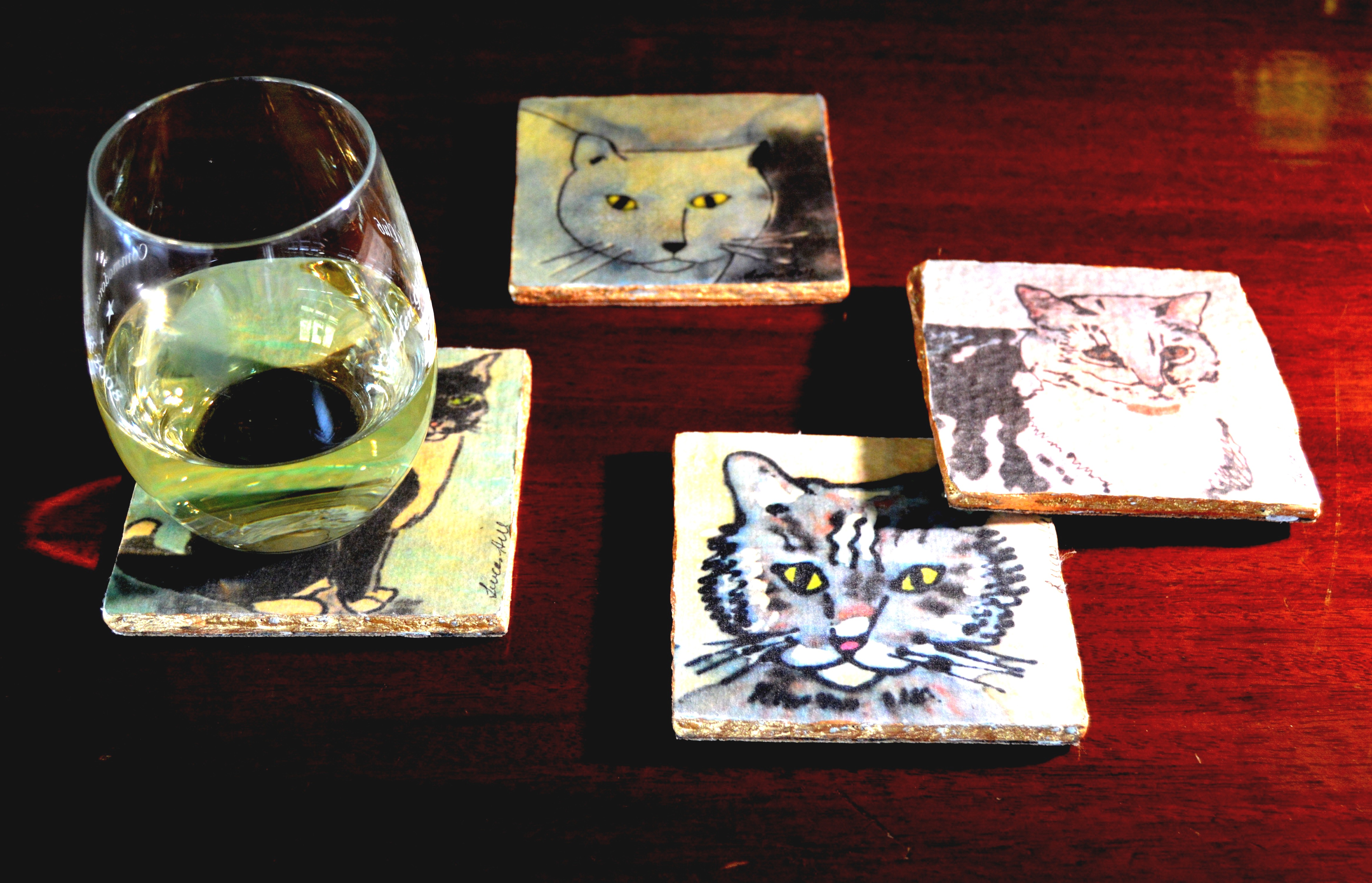 Elite Silk Coasters