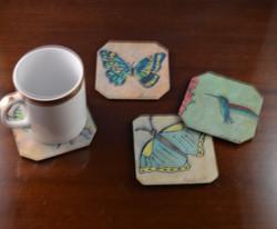 Decor Silk Coasters