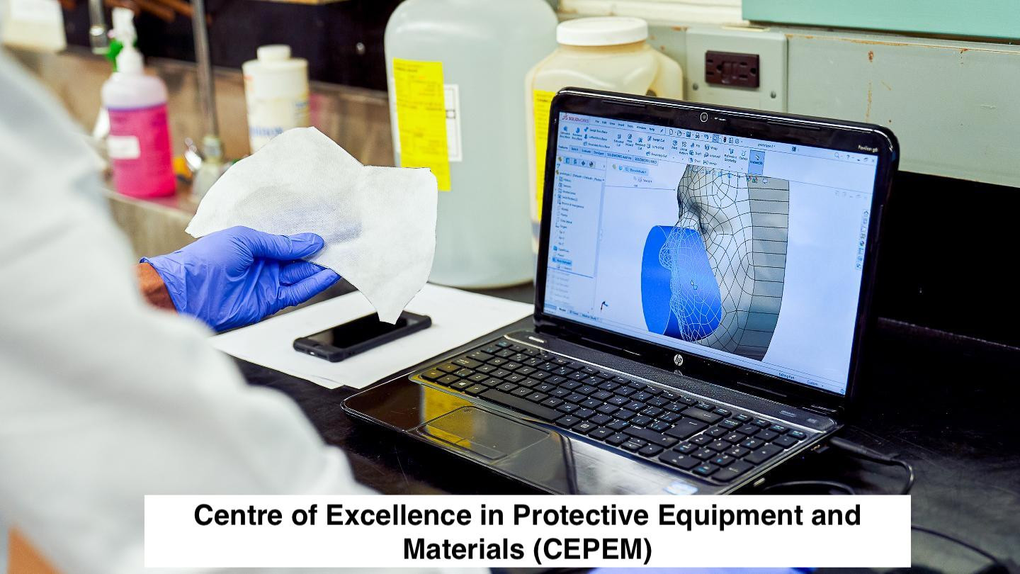 Centre of Excellence in Protective equipment and Material