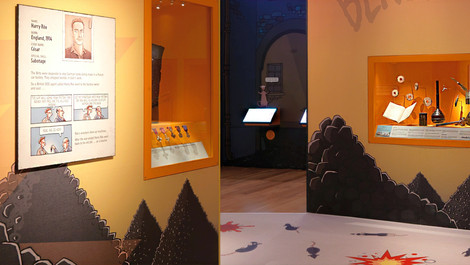 Horrible Histories: Spies exhibition