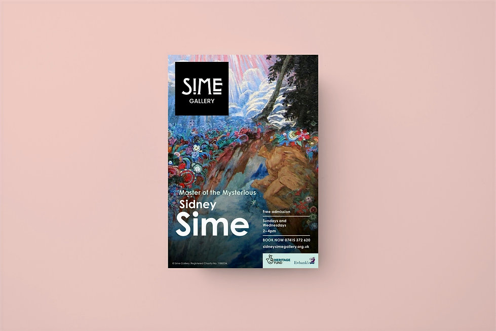 Sime Gallery poster