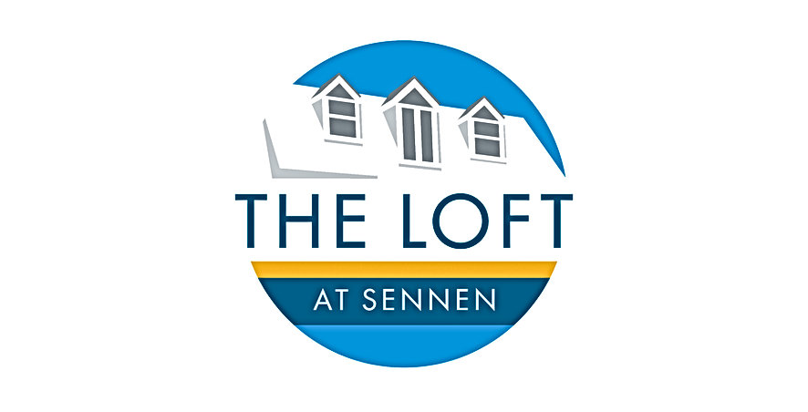The Loft at Sennen logo design