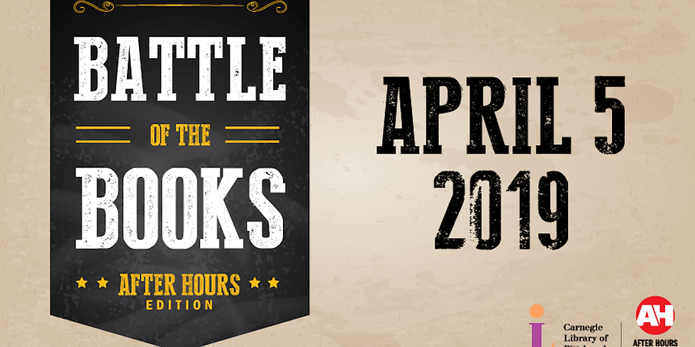 Adult Battle of the Books:  After Hours Edition