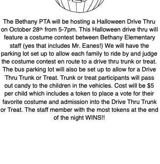 Mark Your Calendars! It's going to be a Spooktacular Event!