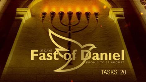 Fast of Daniel twentieth day
