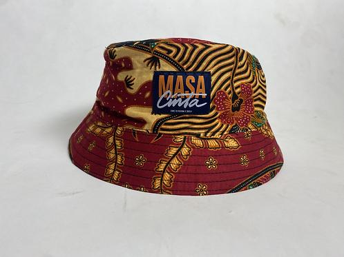 Topi Pasir Merah Muda