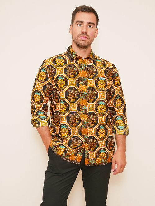 Long Sleeve Shirt - Bunga Kuning (unisex)