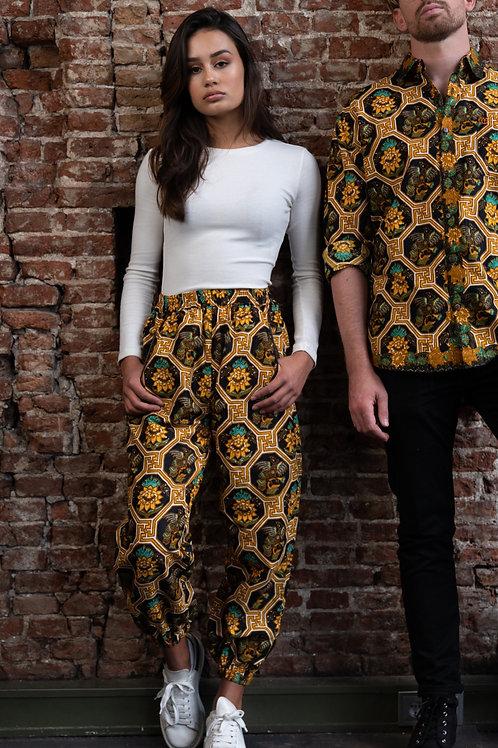 Long Pants -Bunga Kuning (unisex)