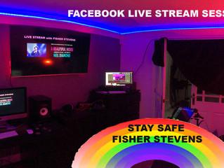 Corona Virus Lockdown Fisher Stevens Live Streams Neil Diamond on Facebook