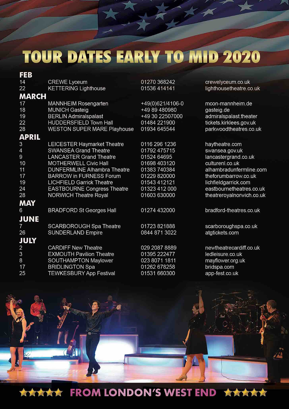 tour dates for A Beautiful noise show neil diamond tribute