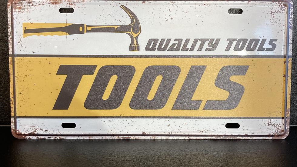 Nummerplaat Tools