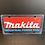 Thumbnail: Nummerplaat van Makita