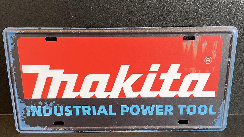 Nummerplaat van Makita