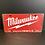 Thumbnail: Nummerplaat van Milwaukee
