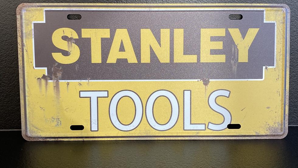 Nummerplaat van Stanley Tools