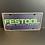 Thumbnail: Nummerplaat van Festool