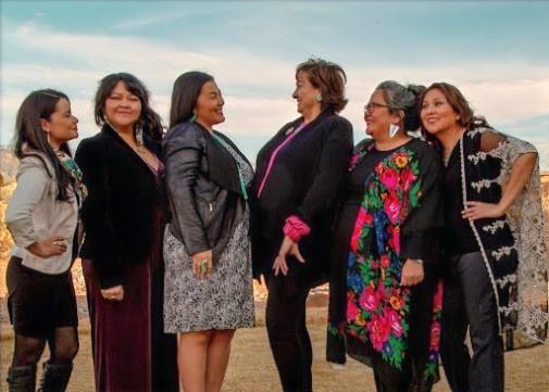 Native Women Lead team