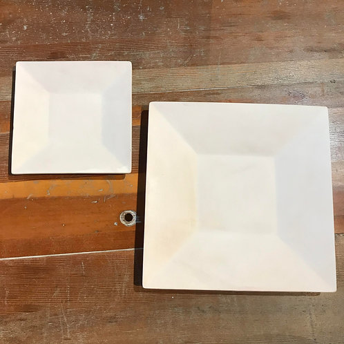 Angled Square Plate (Dinner $18 and Dessert $13)