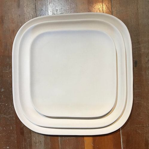 Squircle Plate (Charger $25, Salad $16)