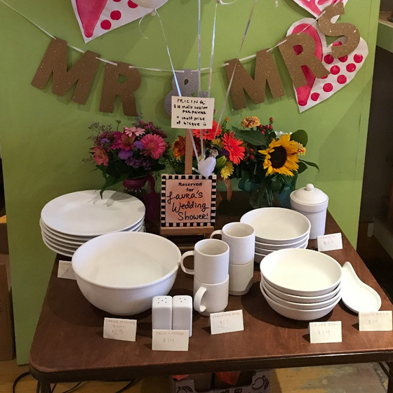 Weddings and Birthdays and Pottery, Oh My!