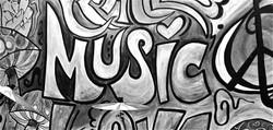 peace music love x