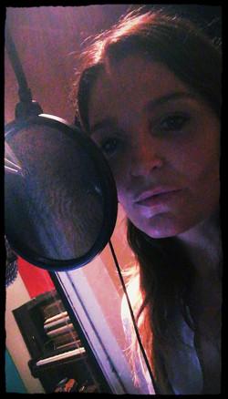 In the booth - AtlantisRecStudio