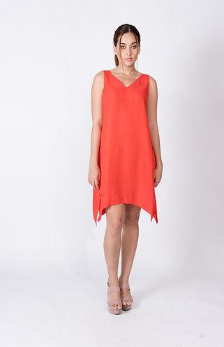 Red Stella Layer Dress