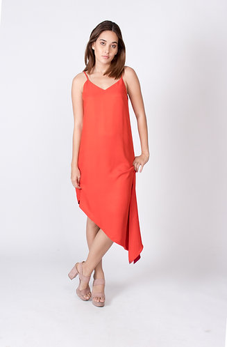 Perfect Red Slip Dress