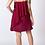 Thumbnail: Maroon Zoe Ruffle Mini Dress