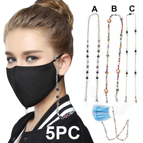 Beaded Necklace for Masks